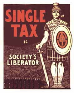 Single-tax-poster